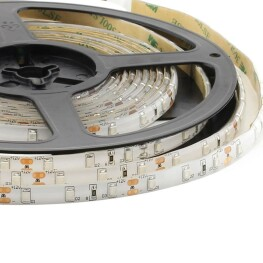Tira LED Monocolor HQ SMD3528, DC12V, 5m (60 Led/m) - IP65, Blanco cálido